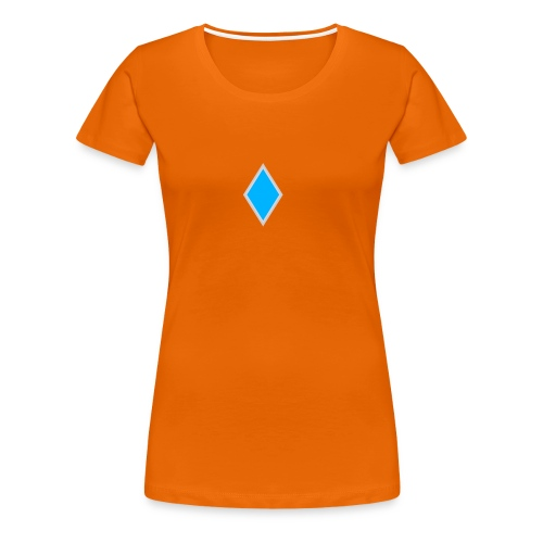 Diamond blue - Women's Premium T-Shirt