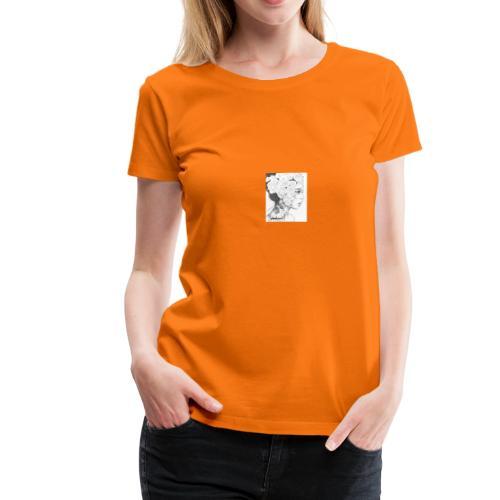 art de una hermosa mujer - Camiseta premium mujer