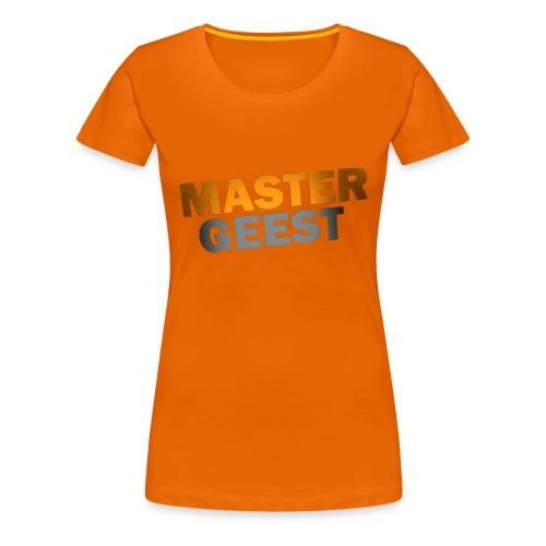 Mastergeest T-Shirt - Vrouwen Premium T-shirt