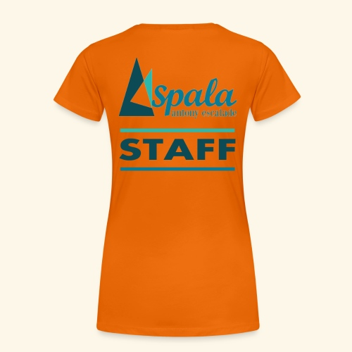 ASPALA - Staff - T-shirt Premium Femme