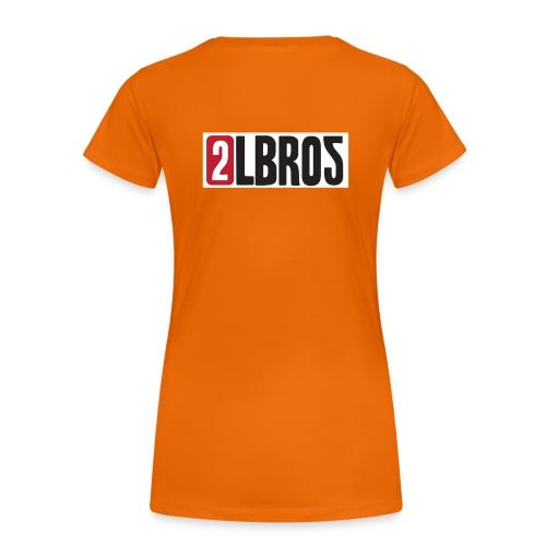 2LBROS - Premium-T-shirt dam