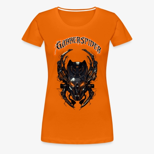 Gabberspider orange - Women's Premium T-Shirt