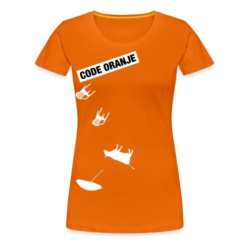Code Oranje - Vrouwen Premium T-shirt