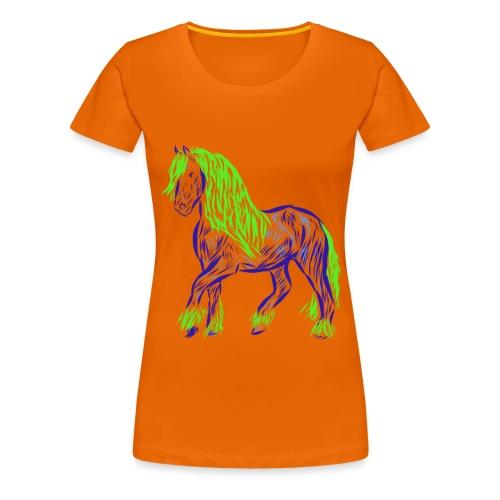 Pferd - Frauen Premium T-Shirt