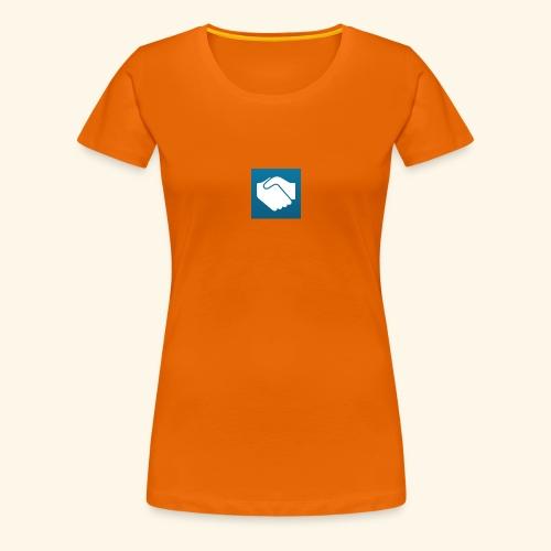 Wir sind zufrieden - Frauen Premium T-Shirt