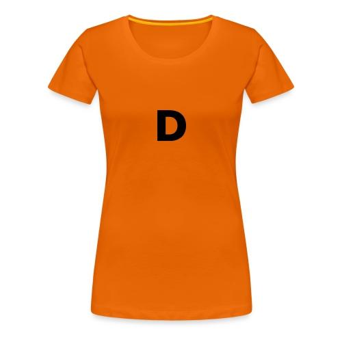 klädplag 4 - Premium-T-shirt dam