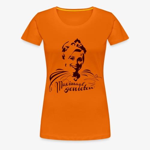Koninging Maxima - Vrouwen Premium T-shirt