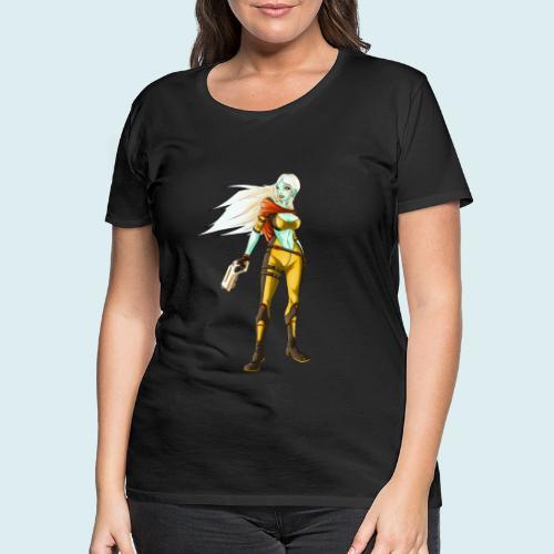 sci fi hunter - Maglietta Premium da donna