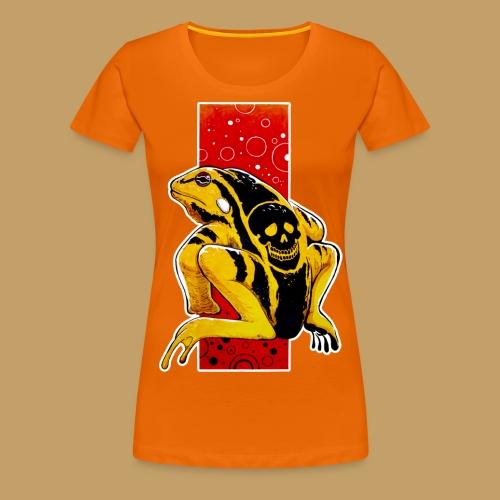 Death Frog - Koszulka damska Premium