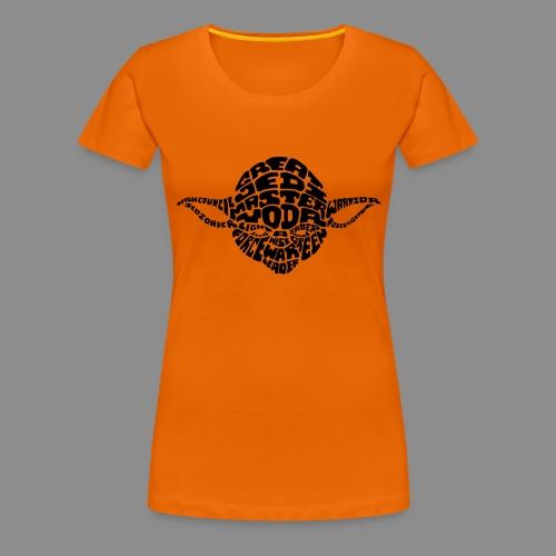 Yoda - Camiseta premium mujer