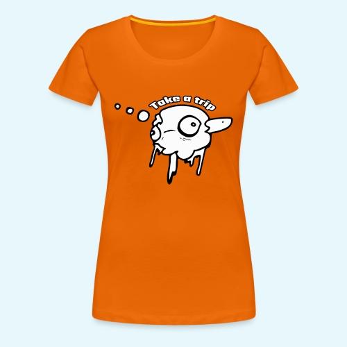 Trippy - Premium-T-shirt dam