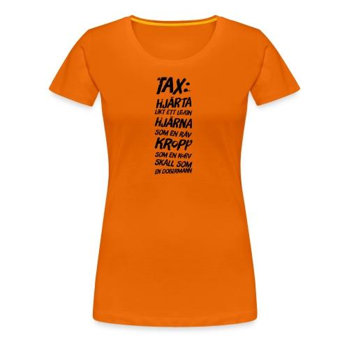 Allsidig tax - Premium-T-shirt dam