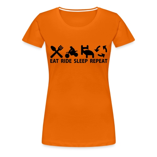 Motocross (MX) - Premium-T-shirt dam