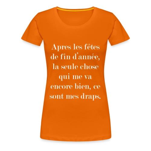 fêtes de fin d'année - T-shirt Premium Femme