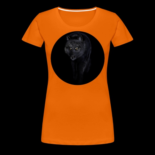 Black Wolf - Women's Premium T-Shirt