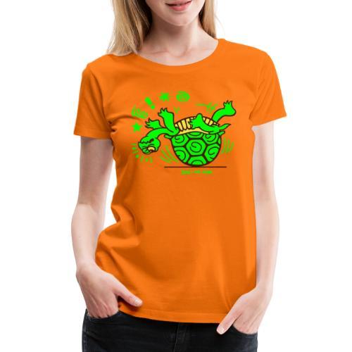 Unlucky Turtle - Women's Premium T-Shirt