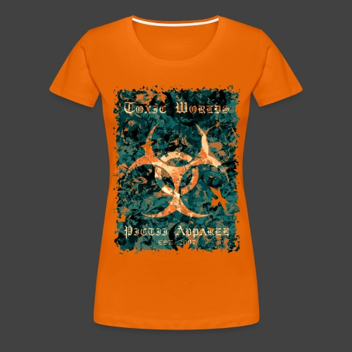 TOXIC WORLDS - 4B - Women's Premium T-Shirt
