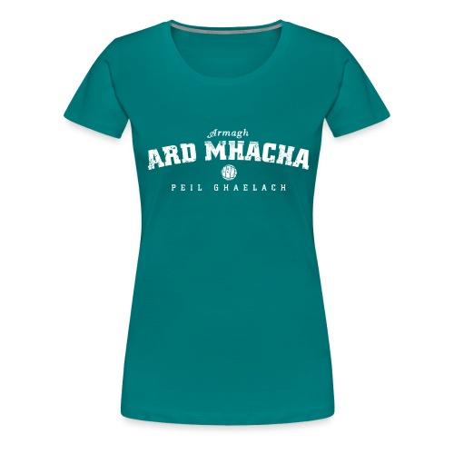 armagh vintage white - Women's Premium T-Shirt