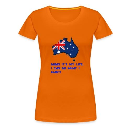 AUSTRALIAN MERCH - Women's Premium T-Shirt