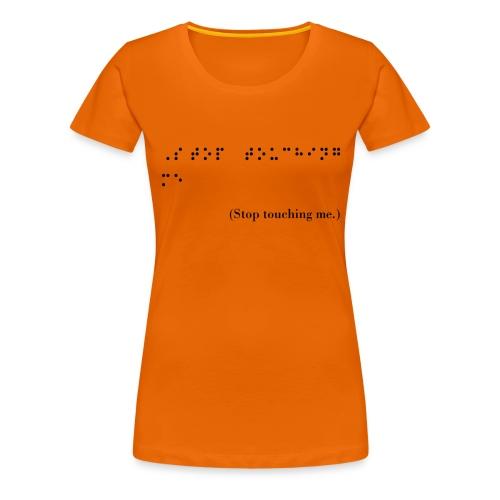 braille - Women's Premium T-Shirt