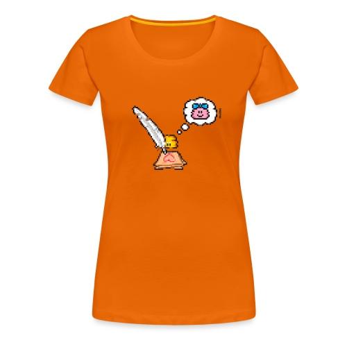 Love Letter Feder - Frauen Premium T-Shirt