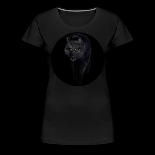 Black Wolf - Women's Premium T-Shirt