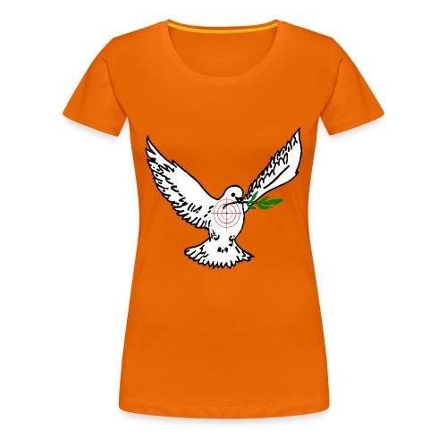 bedrohte friedenstaube - Frauen Premium T-Shirt