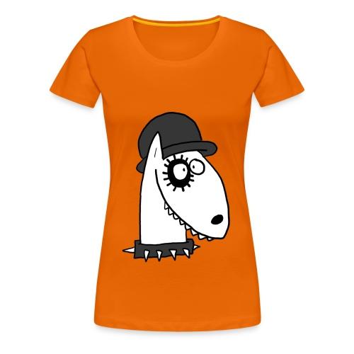 Bullterrier mecánico - Camiseta premium mujer