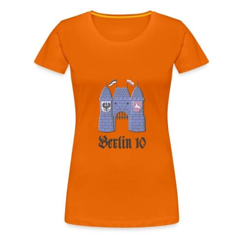 berlin10_wappen_dunkel - Frauen Premium T-Shirt