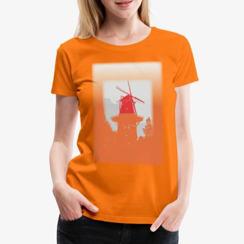 Mills orange - Maglietta Premium da donna