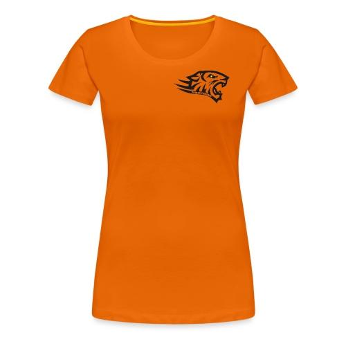 Tuiran Tiikerit tuoteperhe, pieni logo - Naisten premium t-paita