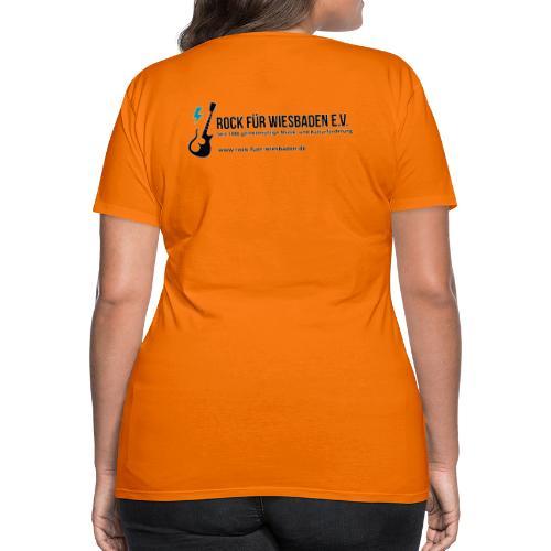Offizielles Rock für Wiesbaden e.V. Design - Frauen Premium T-Shirt