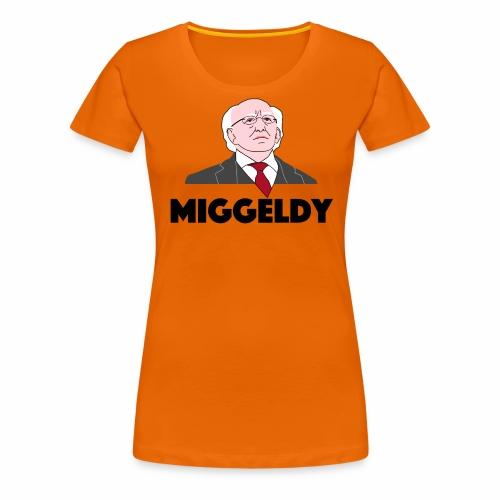 Miggeldy Higgins - Women's Premium T-Shirt