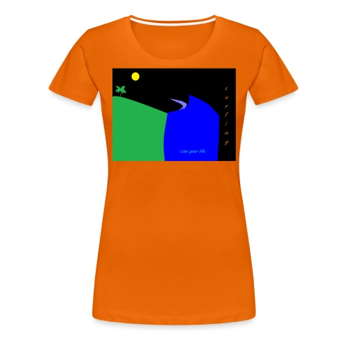 mateo - Camiseta premium mujer