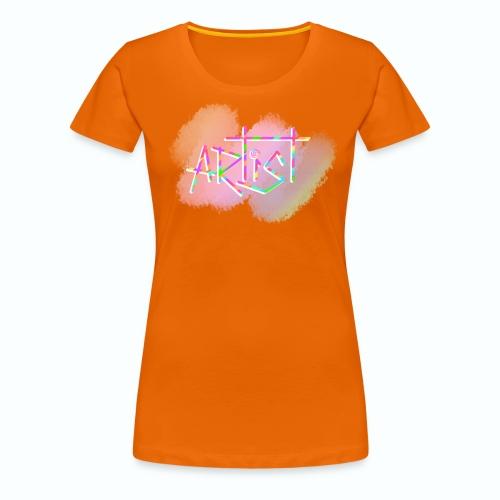 Artist in Colors - Camiseta premium mujer