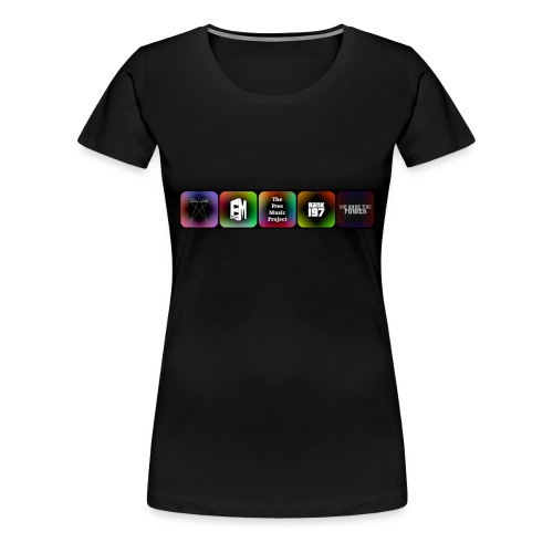 5 Logos - Women's Premium T-Shirt
