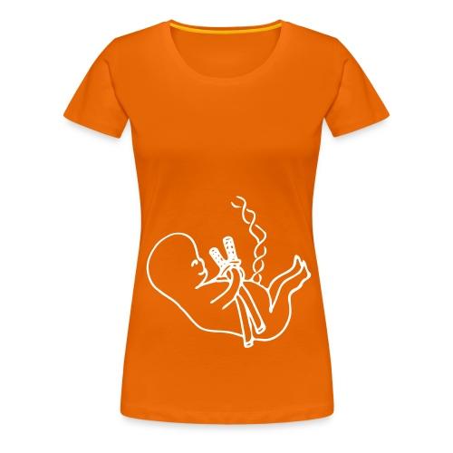 iaido baby - Premium-T-shirt dam