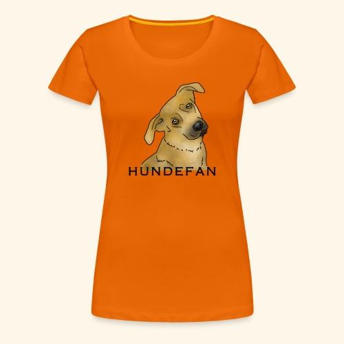 Hundefan, Hund, treu - Frauen Premium T-Shirt