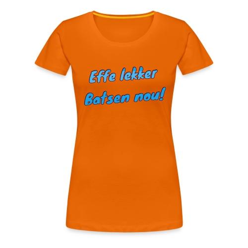 Zeebats 2 - Vrouwen Premium T-shirt