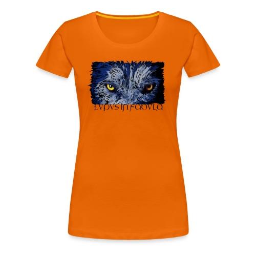 Lupus in Fabula - Maglietta Premium da donna