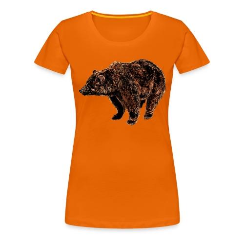 orso - Maglietta Premium da donna