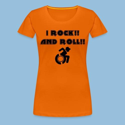 ROCKANDROLL4 - Vrouwen Premium T-shirt