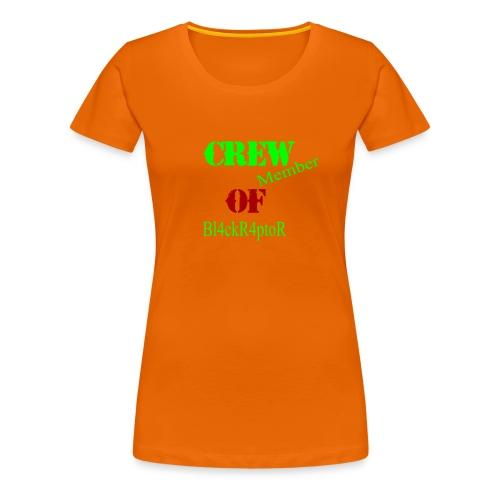 Crew_member_OF_BL4ckR4ptoRR - Frauen Premium T-Shirt