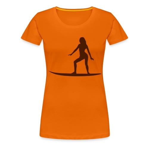 surfer_babe4 - Frauen Premium T-Shirt