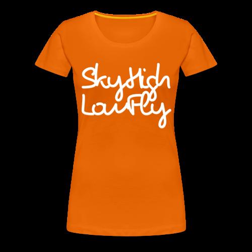 SkyHighLowFly - Men's Sweater - White - Women's Premium T-Shirt