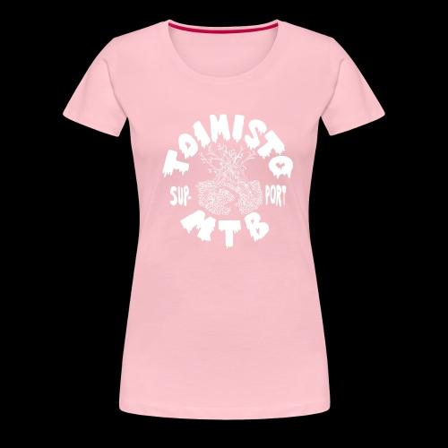 valkone toimisto2support - Naisten premium t-paita