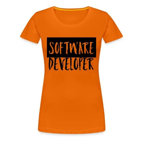 Software Entwickler - Frauen Premium T-Shirt