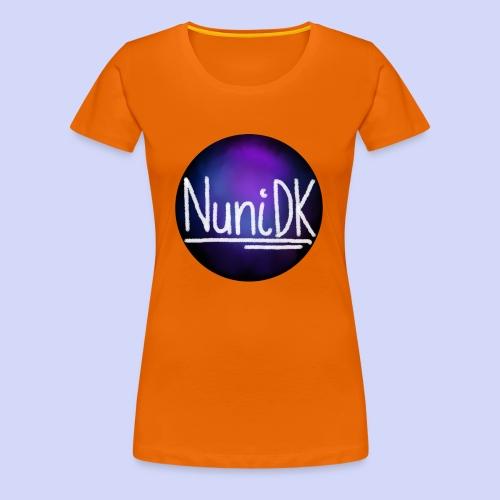 Galaxy shade, NuniDK collection - female top - Dame premium T-shirt