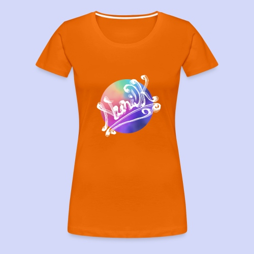 pastel rainbow, NuniDK Collection - Female top - Dame premium T-shirt