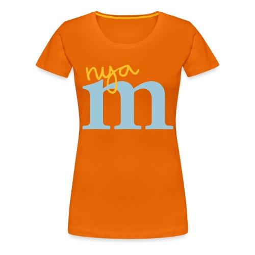 Standard Nya M - Premium-T-shirt dam